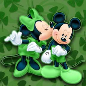 Minnie-Mickey-Disney-Kiss-Lucky-St-Patricks