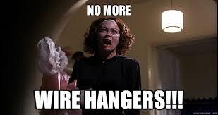 joan wire hangers