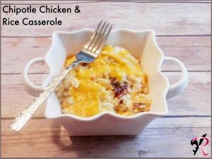 Chipotle Chicken & Rice Casserole Recipe