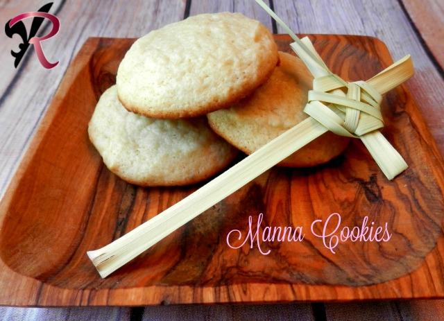 Manna Cookies, Easter cookies-Rae