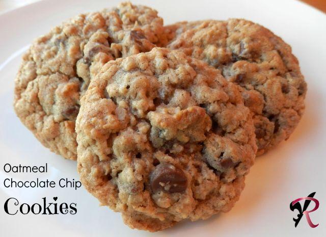 Oatmeal chocolate chip cookies -Rae