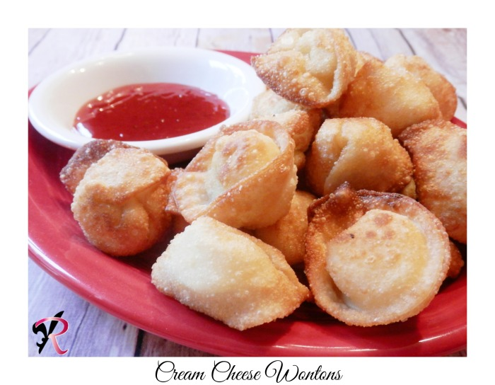 Cream Cheese Wonton recipe