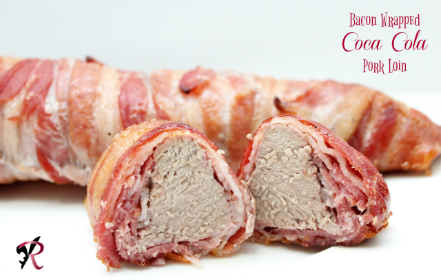 Bacon Wrapped Coca Cola Pork Loin Recipe