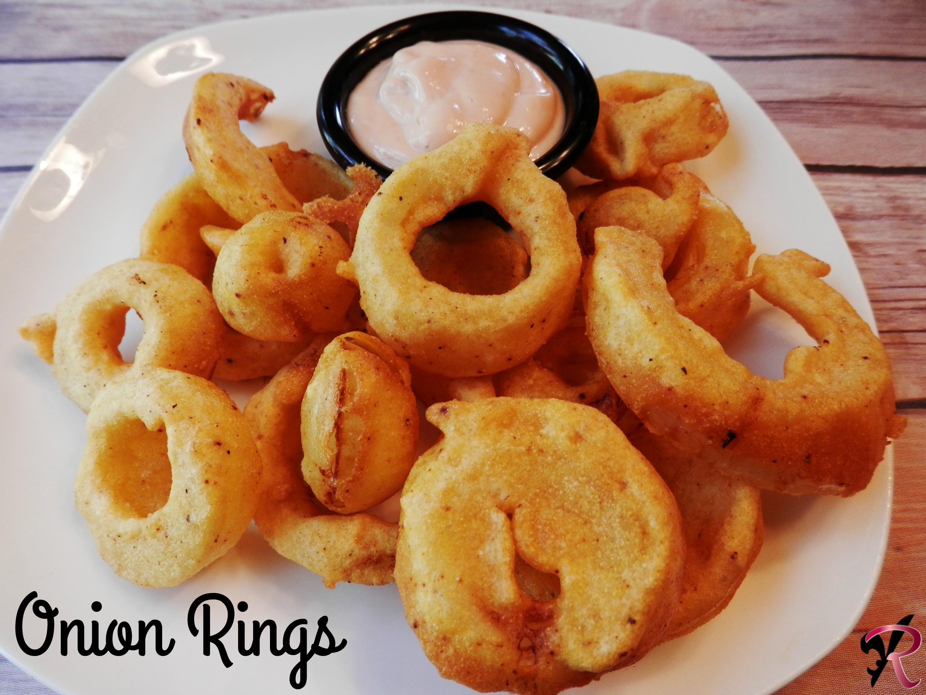 onion recipe crispy rings fried